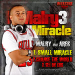 MALRY AKA ARES - DJ Malry Vol 3 (Front Cover)