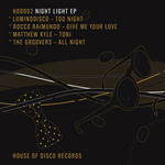 LUMINODISCO/ROCCO RAIMUNDO/MATTHEW KYLE/THE GROOVERS - Night Light EP (Front Cover)