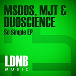 MSDOS/DUOSCIENCE - So Simple EP (Front Cover)