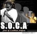 SCRAPPY - SOCA: Soul Of Caribbean Artform (Front Cover)