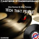 RAMOS, Alex & DINU PANCOV - Tech That People (Front Cover)