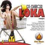 DJ AMILCAR - Loka (Remixes) (Front Cover)