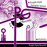VARIOUS - Purple Gate Sampler Vol 02 (Front Cover)