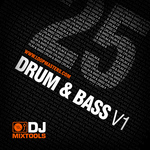 LOOPMASTERS - DJ Mixtools 25: Drum & Bass Vol 1 (Sample Pack WAV) (Front Cover)