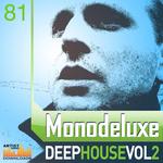 MONODELUXE - Deep House Vol 2 (Sample Pack WAV/APPLE/LIVE/REASON) (Front Cover)
