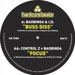BAOBINGA/CTRL Z - Buss Diss Focus (Front Cover)