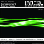 PFEIFFER, Mikael - Komportement (Friends remix) (Front Cover)