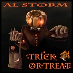 AL STORM - Trick Or Treat? (Front Cover)
