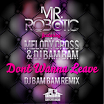 MR ROBOTIC feat MELODY CROSS & DJ BAM BAM - Dont Wanna Leave (Front Cover)