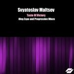 MALTSEV, Svyatoslav - Taste Of Victory (Front Cover)