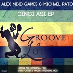 ALEX MIND GAMES/MICHAEL PATO - Cinci Asi EP (Front Cover)