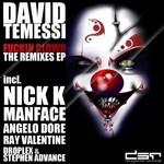 TEMESSI, David - Fuckin Clown The Remixes EP (Front Cover)