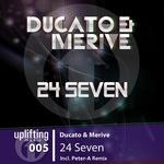 DUCATO/MERIVE - 24 Seven (Front Cover)