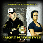 JIM NOIZER feat MISS ROBERTA - Amore Hardstyle (Front Cover)