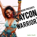 DJ SERGE NEGRI presents SAYCON - The Warrior EP (Front Cover)