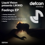 LIQUID VISION presents LIKWID - Feelings EP (Front Cover)
