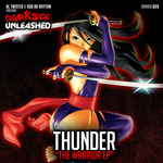 THUNDER - The Warrior EP (Front Cover)