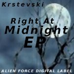 KRSTEVSKI - Right At Midnight EP (Front Cover)