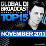 Global DJ Broadcast Top 15 November 2011