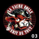 NOUT HERETIK - La Vache Folle 03 (Front Cover)