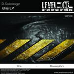 D SABOTAGE - Idris EP (Front Cover)