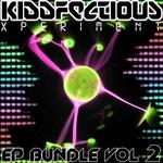 VARIOUS - Kiddfectious Experiment Bundle Vol 2 (Front Cover)