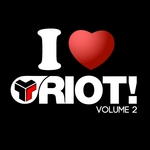 VARIOUS - I Love Riot Volume 2 (Front Cover)