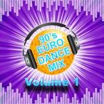VARIOUS - 90's Euro: DJ Mix Vol 1 (Front Cover)