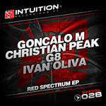 PEAK, Christian/G8/GONCALO M/IVAN OLIVA - Red Spectrum EP (Front Cover)