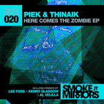 PIEK & THINAIK - Here Comes The Zombie (Front Cover)