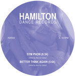 CABRAL, Marcos - Hamilton Dance Records 002 (Front Cover)