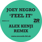 NEGRO, Joey - Feel It (Front Cover)