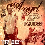 LIQUID DEEP - Angel (DJ Spen, Sean McCabe & Zepherin Saint Remixes) (Front Cover)