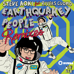 AOKI, Steve feat RIVERS CUOMO - Earthquakey People (Front Cover)