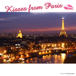 VARIOUS - Kisses From Paris (Front Cover)