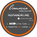 HUMANDRONE - Acid In This Town (Front Cover)