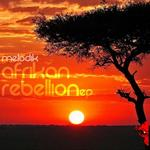 MELODIK - Afrikan Rebellion EP (Front Cover)