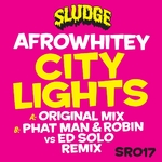 AFROWHITEY - City Lights (Front Cover)