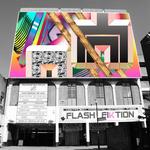 FLASH FIKTION - Artificial Colours (Front Cover)