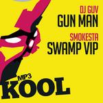 DJ GUV/SMOKSTA - Gun Man (Front Cover)