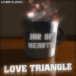 LOVE TRIANGLE - Jar Of Hearts (Front Cover)