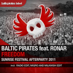 BALTIC PIRATES feat RONAR - Freedom (Sunrise Festival Afterparty 2011) (Front Cover)
