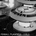 PINBALL PLAYFIELD - Coils (Front Cover)