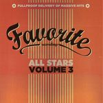 VARIOUS - Favorite All Stars Vol 3 (Front Cover)