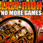 LAZY RICH - No More Games (Front Cover)