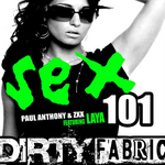 ANTHONY, Paul/ZXX feat LAYA BELLA - Sex 101 (Front Cover)