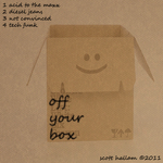 HALLAM, Scott - Off Your Box EP (Front Cover)