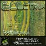 ELECTRUX - Wormholes (Front Cover)