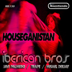 IBERICAN BROS/MISAEL DEEJAY/JAVI PALMERO/TRAPE - Houseganistan (Front Cover)