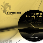 T-DALLAS - Bloody Hair (Front Cover)
